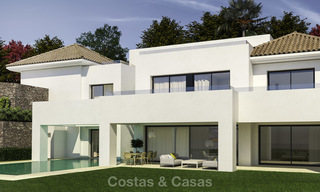 Beautiful contemporary luxury villa with sea and mountain views for sale, Benahavis - Marbella 15883
