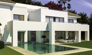 Beautiful contemporary luxury villa with sea and mountain views for sale, Benahavis - Marbella 15884