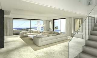 Beautiful contemporary luxury villa with sea and mountain views for sale, Benahavis - Marbella 15885