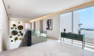 Beautiful contemporary luxury villa with sea and mountain views for sale, Benahavis - Marbella 27996