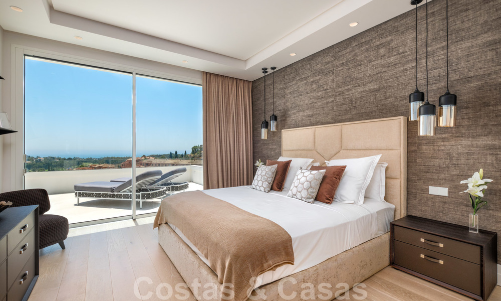 Beautiful contemporary luxury villa with sea and mountain views for sale, Benahavis - Marbella 27999