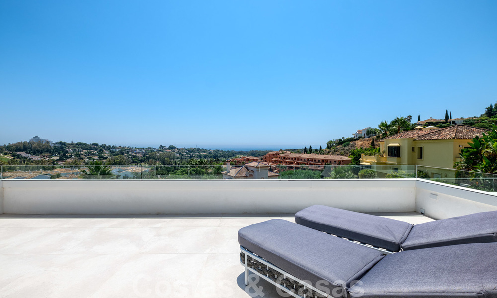 Beautiful contemporary luxury villa with sea and mountain views for sale, Benahavis - Marbella 28003