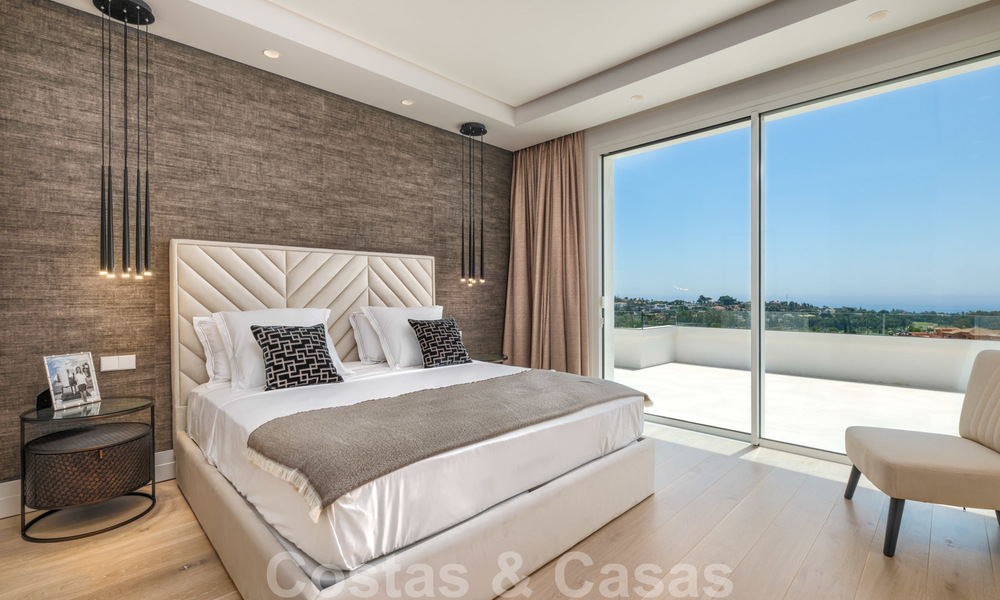 Beautiful contemporary luxury villa with sea and mountain views for sale, Benahavis - Marbella 28005