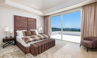 Beautiful contemporary luxury villa with sea and mountain views for sale, Benahavis - Marbella 28008