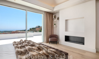 Beautiful contemporary luxury villa with sea and mountain views for sale, Benahavis - Marbella 28009