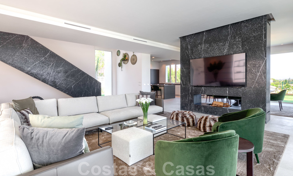 Beautiful contemporary luxury villa with sea and mountain views for sale, Benahavis - Marbella 28026