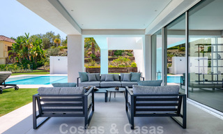 Beautiful contemporary luxury villa with sea and mountain views for sale, Benahavis - Marbella 28040