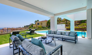Beautiful contemporary luxury villa with sea and mountain views for sale, Benahavis - Marbella 28041