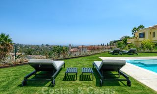 Beautiful contemporary luxury villa with sea and mountain views for sale, Benahavis - Marbella 28043