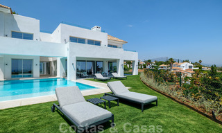 Beautiful contemporary luxury villa with sea and mountain views for sale, Benahavis - Marbella 28045