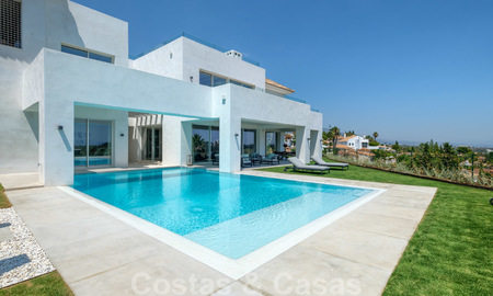 Beautiful contemporary luxury villa with sea and mountain views for sale, Benahavis - Marbella 28046