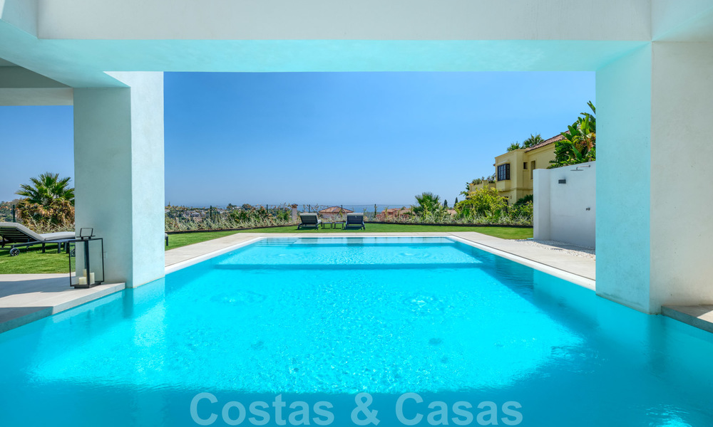 Beautiful contemporary luxury villa with sea and mountain views for sale, Benahavis - Marbella 28048