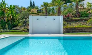Beautiful contemporary luxury villa with sea and mountain views for sale, Benahavis - Marbella 28049