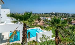 Beautiful contemporary luxury villa with sea and mountain views for sale, Benahavis - Marbella 28052