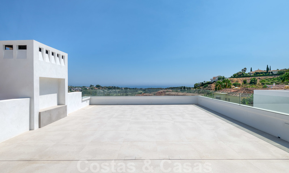 Beautiful contemporary luxury villa with sea and mountain views for sale, Benahavis - Marbella 28054