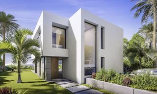 Stylish new contemporary villa for sale on the New Golden Mile between Estepona and Marbella 15940