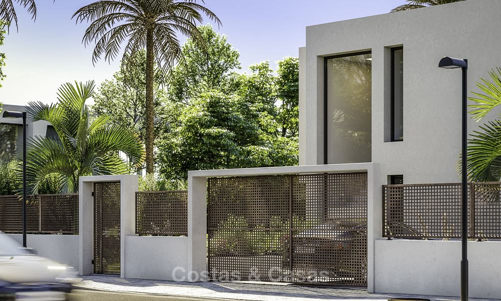 Stylish new contemporary villa for sale on the New Golden Mile between Estepona and Marbella 15941