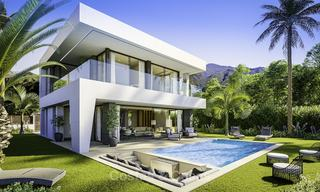 Stylish new contemporary villa for sale on the New Golden Mile between Estepona and Marbella 15942
