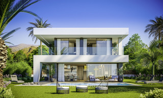 Stylish new contemporary villa for sale on the New Golden Mile between Estepona and Marbella 15943