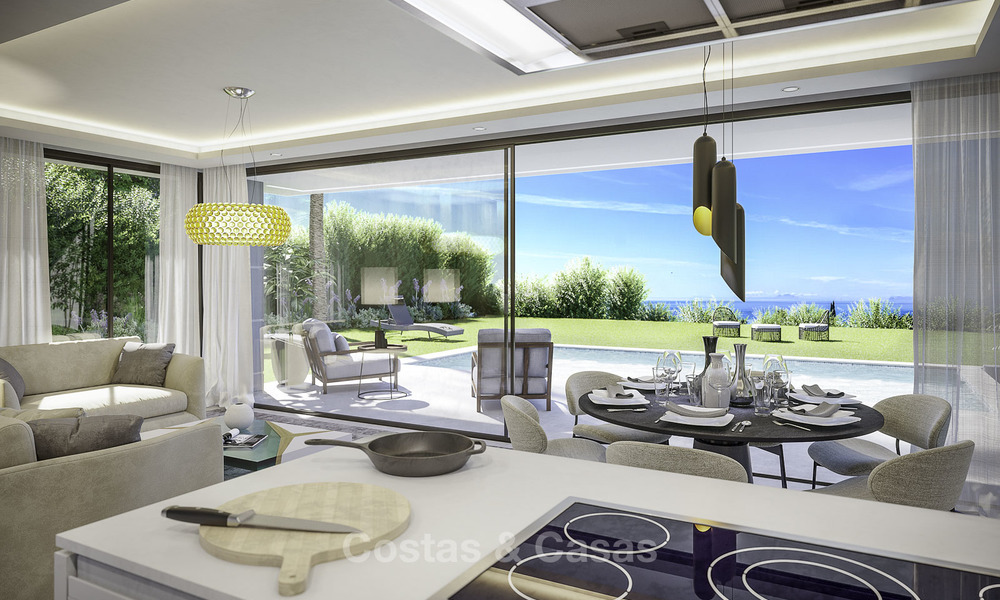 Stylish new contemporary villa for sale on the New Golden Mile between Estepona and Marbella 15947