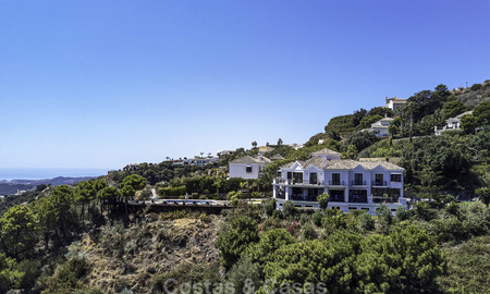 Charming rustic-modern luxury villa for sale with fantastic views in a gorgeous country estate, Benahavis - Marbella 16091