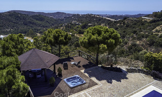 Charming rustic-modern luxury villa for sale with fantastic views in a gorgeous country estate, Benahavis - Marbella 16094