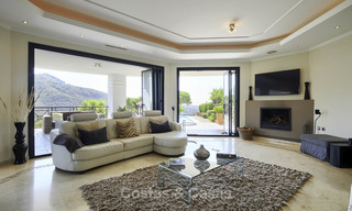 Charming rustic-modern luxury villa for sale with fantastic views in a gorgeous country estate, Benahavis - Marbella 16096