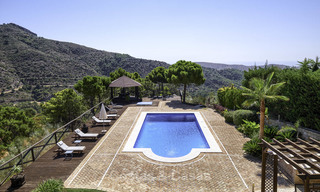 Charming rustic-modern luxury villa for sale with fantastic views in a gorgeous country estate, Benahavis - Marbella 16117