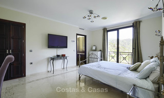 Charming rustic-modern luxury villa for sale with fantastic views in a gorgeous country estate, Benahavis - Marbella 16124