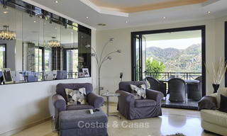 Charming rustic-modern luxury villa for sale with fantastic views in a gorgeous country estate, Benahavis - Marbella 16126