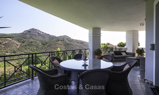 Charming rustic-modern luxury villa for sale with fantastic views in a gorgeous country estate, Benahavis - Marbella 16127