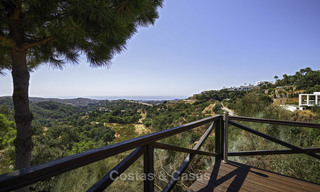 Charming rustic-modern luxury villa for sale with fantastic views in a gorgeous country estate, Benahavis - Marbella 16133