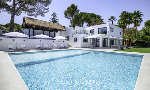 Impressive, luxurious contemporary designer villa for sale, move-in ready, Nueva Andalucia, Marbella. Reduced in price. 16196