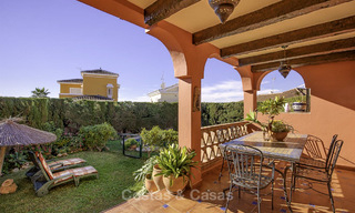 Peaceful Andalusian style villa with separate guest house for sale in the centre of Marbella city 16254
