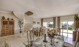 For sale: 4-bed front line golf townhouse with sea and mountain views in a superb resort in Benahavis - Marbella 16314