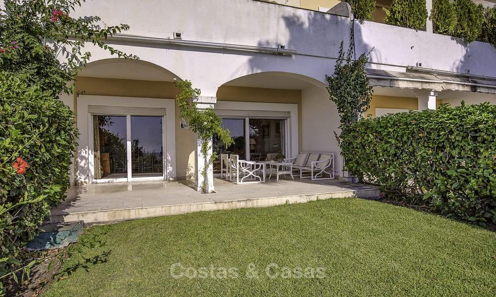 For sale: 4-bed front line golf townhouse with sea and mountain views in a superb resort in Benahavis - Marbella 16320