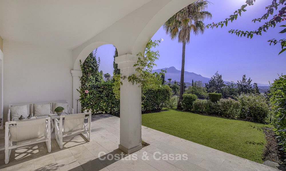 For sale: 4-bed front line golf townhouse with sea and mountain views in a superb resort in Benahavis - Marbella 16321
