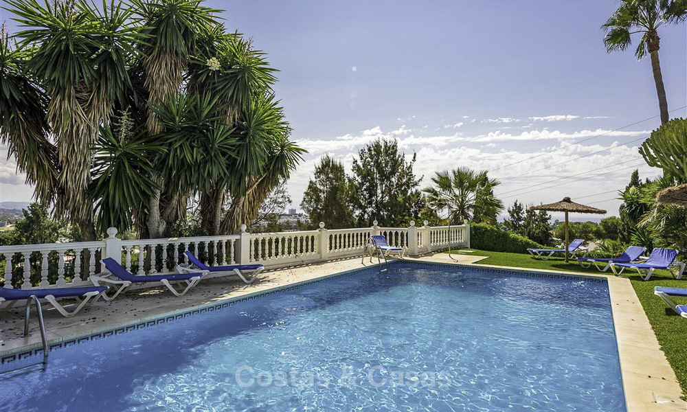 For sale: 4-bed front line golf townhouse with sea and mountain views in a superb resort in Benahavis - Marbella 16339