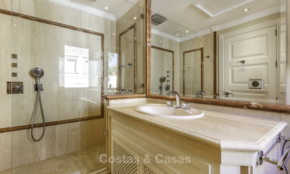 Stunning luxury corner townhouse with breath-taking sea and mountain views for sale, in Sierra Blanca, Golden Mile, Marbella 16508