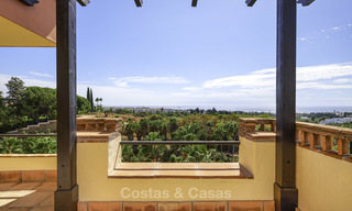 Rare, very spacious 5-bed penthouse apartmentwith sea and mountain views for sale on the Golden Mile in Marbella 16561