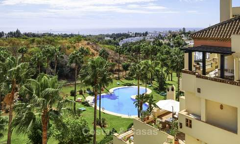 Rare, very spacious 5-bed penthouse apartmentwith sea and mountain views for sale on the Golden Mile in Marbella 16562