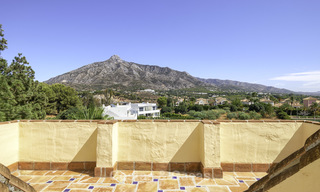 Rare, very spacious 5-bed penthouse apartmentwith sea and mountain views for sale on the Golden Mile in Marbella 16568