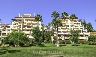 Rare, very spacious 5-bed penthouse apartmentwith sea and mountain views for sale on the Golden Mile in Marbella 16577