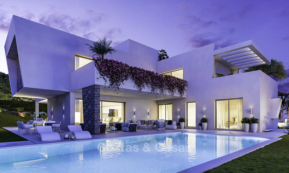 Last available modern-contemporary villa for sale in an exclusive boutique complex in Marbella-Estepona-Benahavis 16810