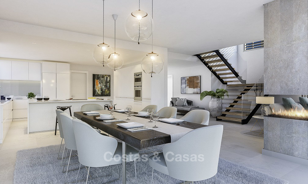 Last available modern-contemporary villa for sale in an exclusive boutique complex in Marbella-Estepona-Benahavis 16811