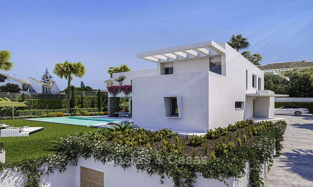 Last available modern-contemporary villa for sale in an exclusive boutique complex in Marbella-Estepona-Benahavis 16812