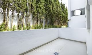 Brand new, move-in ready, modern garden apartment for sale, walking distance to the beach and amenities, between Marbella en Estepona 16941
