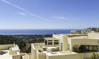 Move-in ready modern 3-bed apartment with spectacular sea and mountain views for sale in Marbella 16833