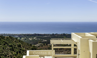 Move-in ready modern 3-bed apartment with spectacular sea and mountain views for sale in Marbella 16836