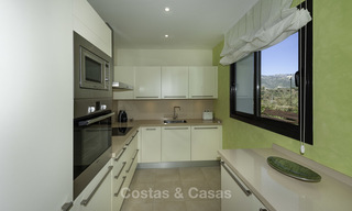 Move-in ready modern 3-bed apartment with spectacular sea and mountain views for sale in Marbella 16839